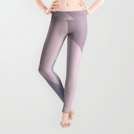 Nude Tones Geometry Leggings