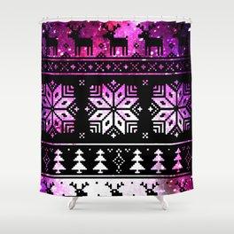 Galaxy-Sweater Shower Curtain