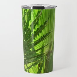 Shades of Palm Leaves Travel Mug