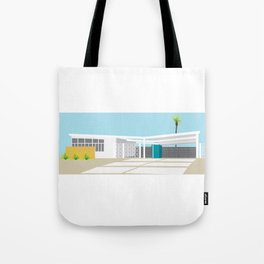 mid-century modern house four Tote Bag