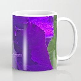 Periwinkle, Purple, & Pink Pansy Coffee Mug