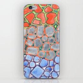 Summer Heat over Refreshing Water Pattern iPhone Skin