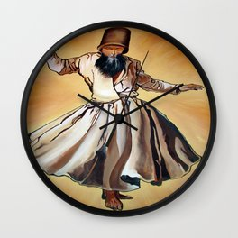 Semasen - Sufi Whirling Dervish Wall Clock