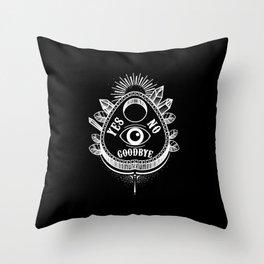 Call Me On the Ouija Board Throw Pillow
