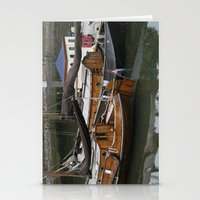 boats Stationery Cards featuring Boats by constarlation