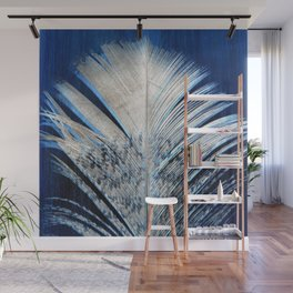 Feather | Feathers | Spiritual | White and Blue Feather | Nature Wall Mural