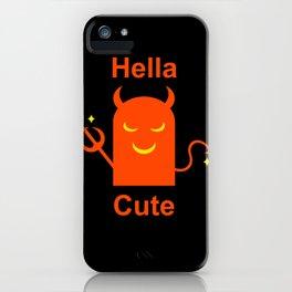 Hella Cute iPhone Case