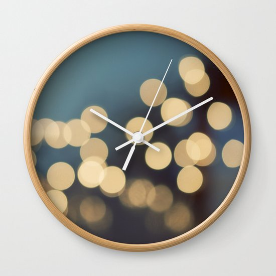 Blue Monday Wall Clock