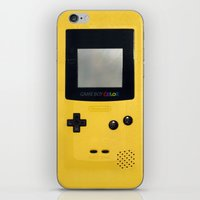 gameboy iPhone & iPod Skins featuring GameBoy by Blending