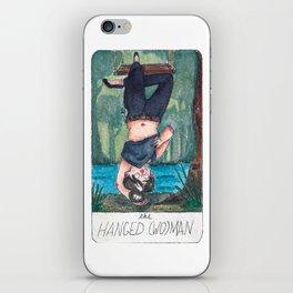 The Solipsist Tarot | XII - The Hanged (Wo)man iPhone Skin