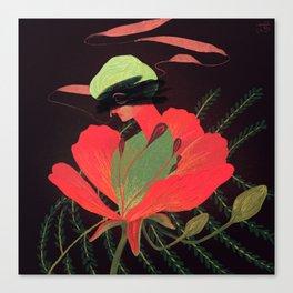 Phoenix Flower Canvas Print