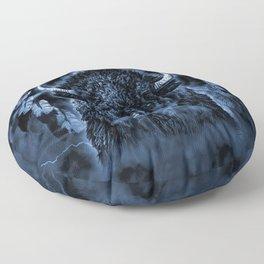 SPIRIT BUFFALO Floor Pillow