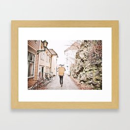 Alleyways Framed Art Print