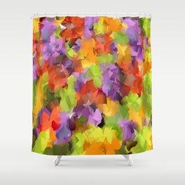Kats Colors Shower Curtain