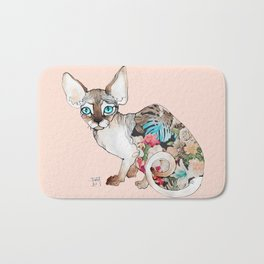 sphinx cat Bath Mat