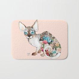 sphinx cat Bath Mat