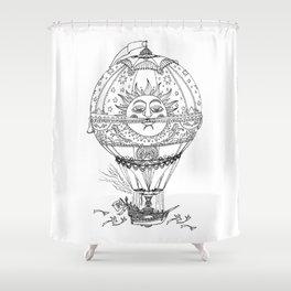 El Globo Sol Shower Curtain
