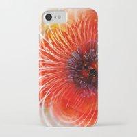 poppy iPhone & iPod Cases featuring Poppy by Klara Acel