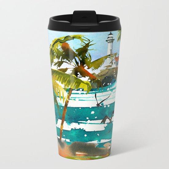 Seascape #8 Metal Travel Mug