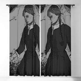 Wednesday Addams Blackout Curtain