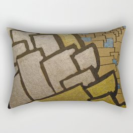 Eiffel tower cubic close up Rectangular Pillow
