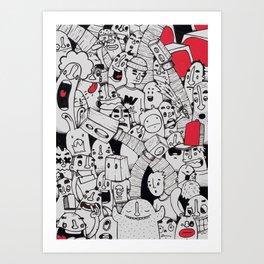 mix1 Art Print