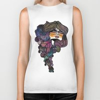 pisces Biker Tanks featuring Pisces by annabours