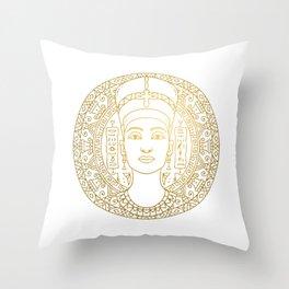 Nefertiti Mandala – Egypt Throw Pillow