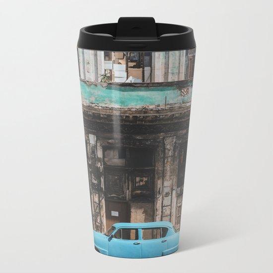 La Habana Metal Travel Mug