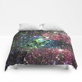 Eagle Nebula Colorful Jewel Tones Comforters