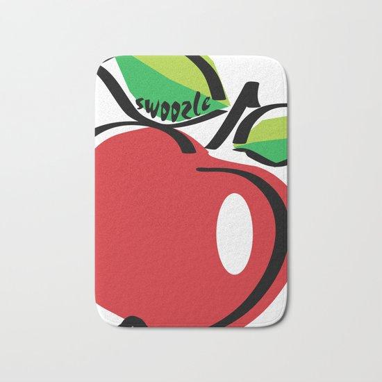 Apple Swoozle Bath Mat
