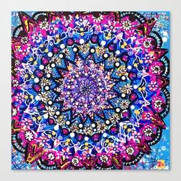 Orb Weaver Mandala Canvas Print