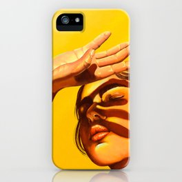 Shimmer of the Sun iPhone Case