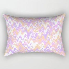 Mod Abstract Rectangular Pillow