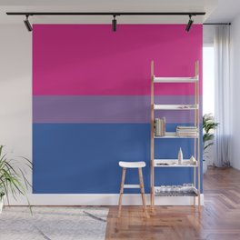 BISEXUAL FLAG Wall Mural