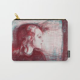 The sick child - Digital Remastered Edition Carry-All Pouch