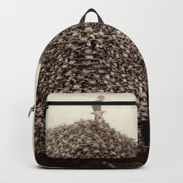 Bison Skull Pile Backpack