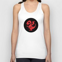 targaryen Tank Tops featuring Modern Dragon Sigil by Arne AKA Ratscape