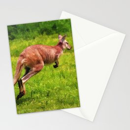 Wild Wallaby - Australian Animal Stationery Cards