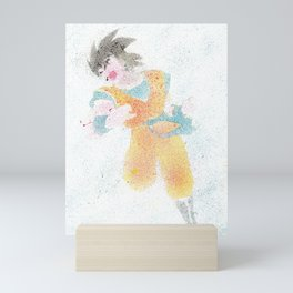 Spited Goku Mini Art Print