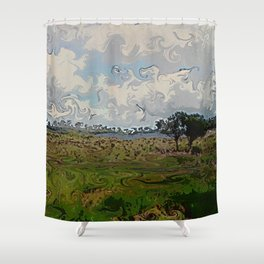 Only Living Boy Shower Curtain