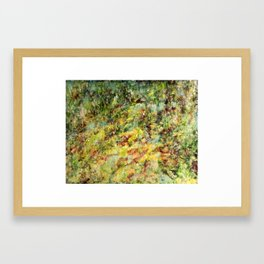 Lush (At Home in the Woods)  Framed Art Print