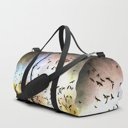 When The Crows Fly Duffle Bag