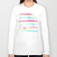 arrow Long Sleeve T-shirts featuring Arrow by Louise Machado