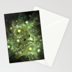 Dawning Universe Fractal Art Stationery Cards