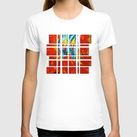 gemini T-shirts featuring Gemini by SteeleCat