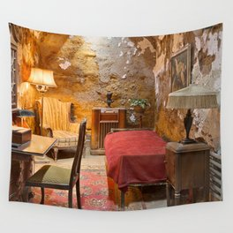 Al Capone's Luxurious Prison Cell Wall Tapestry