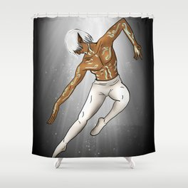 Fenris the Ballet Star Shower Curtain