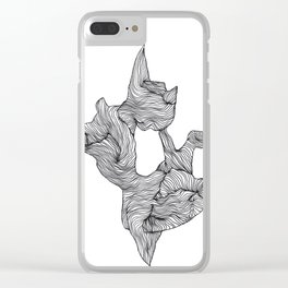Fragment Clear iPhone Case