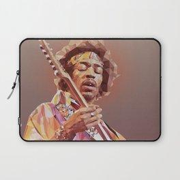 Jimi Hendrix Guitar God Laptop Sleeve